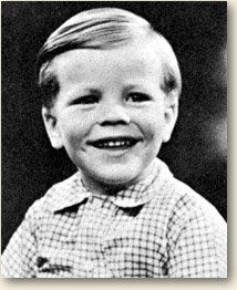 Peter Noone of Herman's Hermits as a child.  That too-cute smile never changes!
