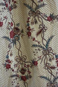 1780s Indigo and Madder Dress. Meg Andrews