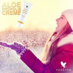 Excellent as a skin moisturizer and conditioner, Aloe Propolis Creme is a rich blend of stabilized Aloe Vera Gel and Bee Propolis, with other ingredients recognized for their contribution to healthy skin. https://www.youtube.com/watch?v=bZr_fAKGtW4 http://360000339313.fbo.foreverliving.com/page/products/all-products/5-skin-care/051/usa/en Need help? http://istenhozott.flp.com/contact.jsf?language=en Buy it http://istenhozott.flp.com/shop.jsf?language=en