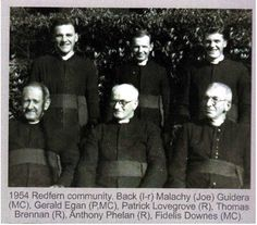 The Brothers who taught at Mount Carmel.