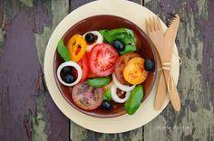 Sałatka pomidorowa. Bardzo pomidorowa