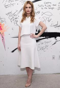 lily-james-all-white-look