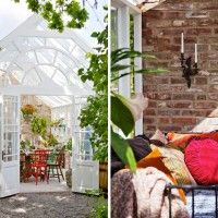 Whimsical Stockholm Greenhouse Cottage
