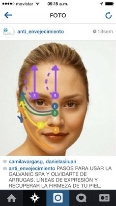 It's more than possible to give yourself a non-surgical facelift yielded by stimulating your face with facial reflexology and face gymnastics. Facial toning exercises lift the face skin with great results for a long-term energy facelift without surgery. Nu Skin, Face Skin, Galvanic Facial, Galvanic Spa, Acne Facial, Facial Care, Spa Facial, Facelift Without Surgery, Face Tone
