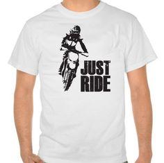 Just Ride- Motorcycle T-shirt Mens
