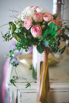Pink & Ivory Bouquet