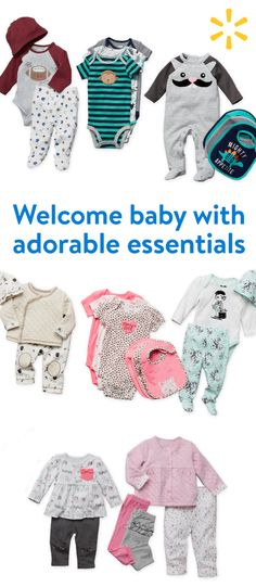 Shop adorable yet affordable sets for newborns. Walmart is home to huge savings on everything you need for baby. From basic bodysuits to take-me-home sets, dress baby in style at walmart.com.
