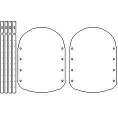 Spaulders template