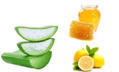 Masque capillaire à l'aloès et au miel