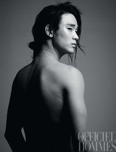 L'Officiel Hommes 2011.10 - Kim Soo Hyun