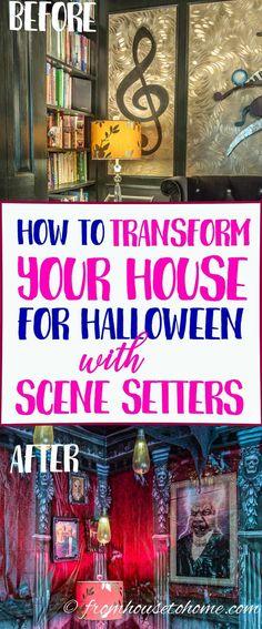Pin by Meli on HaLLowEEn ScEnE Pinterest Halloween scene - halloween scene setters decorations