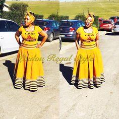 African Clothes, African Fashion Dresses, African Dress, African Traditional Wear, Traditional Dresses, Xhosa Attire, Nigerian Dress, African Princess, Shweshwe Dresses