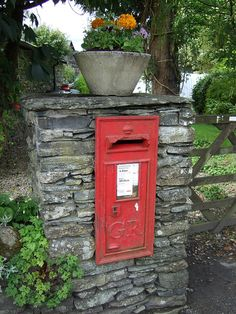 Beatrix Potter's postbox by beestingtouch, via Flickr