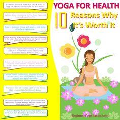 Yoga For Health: 10 Reasons Why It's Worth It | Beginner Yoga