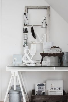 Ikea Vika Gruvan desk Black