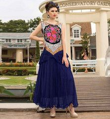 STYLISH GOWNS FASHION NEW TRENDY DRESSES EVENING DRESSES ONLINE INDIA #VDKAL21021  Rs. 2,700.00