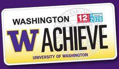 UW license plate sales benefit student scholarships!