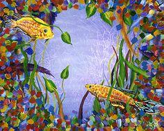 Koi Pond - John Bramblitt