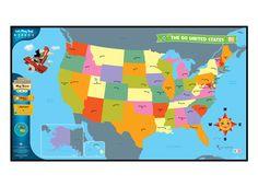 Leapreader Tag Reader United States Map Leapfrog