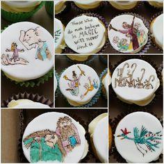Roald dahl cupcakes