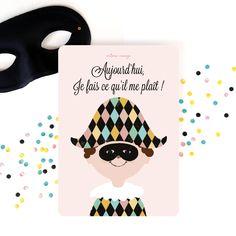 Carte { Carnaval } // Card { Carnival } @ môme nuage