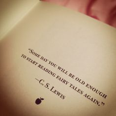 C. S. Lewis Quote in The Land Of Stories by Chris Colfer