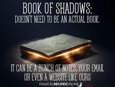 Real book of shadows