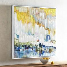 Horizon Abstract Art | Pier 1 Imports