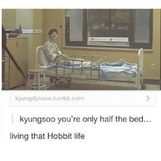 D.O our cute little hobit! #EXO #meme  Cr: owner