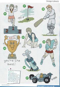 ♥Meus Gráficos De Ponto Cruz♥: Esporte