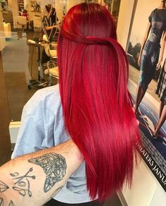 You are in the right place about red hair african american Here we offer you the most beautiful pict Hair Color And Cut, Cool Hair Color, Hair Colour, Cheveux Oranges, Dyed Red Hair, Bright Red Hair, Burgundy Hair, Coloured Hair, Aesthetic Hair