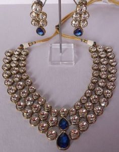 Multi Layered Kundan Necklace Set