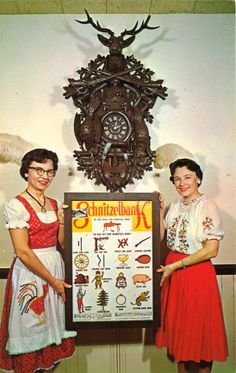 50s Octoberfest found photo print ad snapshot color German Austrian Hungarian…