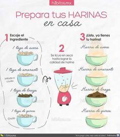 Preparar harina