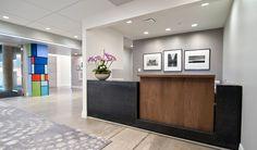 Clean White Front Office Interior Design Ideas