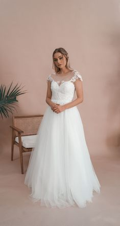 Miss Scarlett Label is a collection of all-white debutante gowns that boasts intricate laces, delicate fabrics and beautiful contemporary designs. Lace Weddings, Wedding Gowns, Deb Dresses, All White, Serendipity, Contemporary Design, Sleeve, Beautiful, Collection