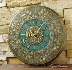 бронзовые часы