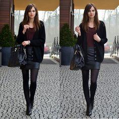 Choies Cardigan, Choies Skirt