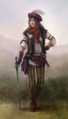 """we-are-rogue:  Falka by Afternoon63 """"Ciri as Falka after joining the Rats. From the witcher books by A.Sapkowski."""""""