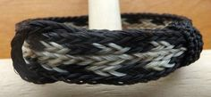 White and Black Striped Horse Hair Cinch Bracelet   eBay