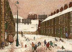 """The former home of """"Pitman painter"""" Norman Cornish is set to be rebuilt at a County Durham museum. Sunderland University, Norman Cornish, Durham Museum, Newcastle University, British Travel, Naive Art, Historical Pictures, Famous Artists"""