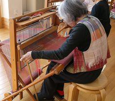 saori weaving techniques   Heard About SAORI Weaving? Think Beyond the Scarf: Creative Weaving ...