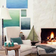 Drewniany model jachtu, morskie dekoracje, żeglarski wystrój wnętrz, styl marynistyczny   Giannetti Architects