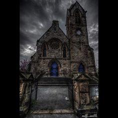 ⛪️ŁŁẠ₦ÐỤÐ₦Ø⛪️  Urbex explore church dark gothic religious spooky old