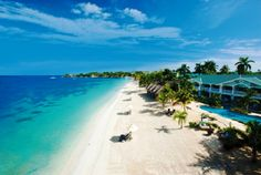 Sandals Beach Resort and Spa Negril Jamaica - I've wanted to go here since I was a teenager.