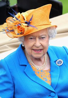 Queen Elizabeth II arrives into the parade ring as she attends the third day of Royal Ascot at Ascot Racecourse  on June 15, 2016 in Ascot, England.