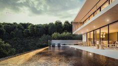 CASA PC | Condomínio Roland Garros em Florianópolis SC. #casa #arquitetura #casas #concreto #florianopolis #arquitetos #ideias #fachada #arquitectura #houses #piscina #pool #concreto