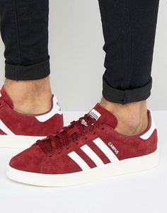 sports shoes a3779 aa88c adidas Originals Campus Sneakers In Burgundy BB0079 at asos.com