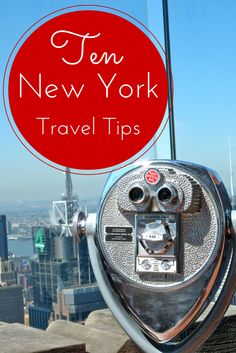 Ten New York City Travel Tips - Merry About Town