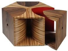 Tessellated Hexagon Tables - Toby Howes' Escher Coffee Table Has Real Edge (GALLERY)